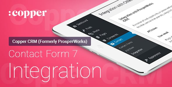 Contact Form 7 — ProsperWorks (Copper) CRM — Интеграция